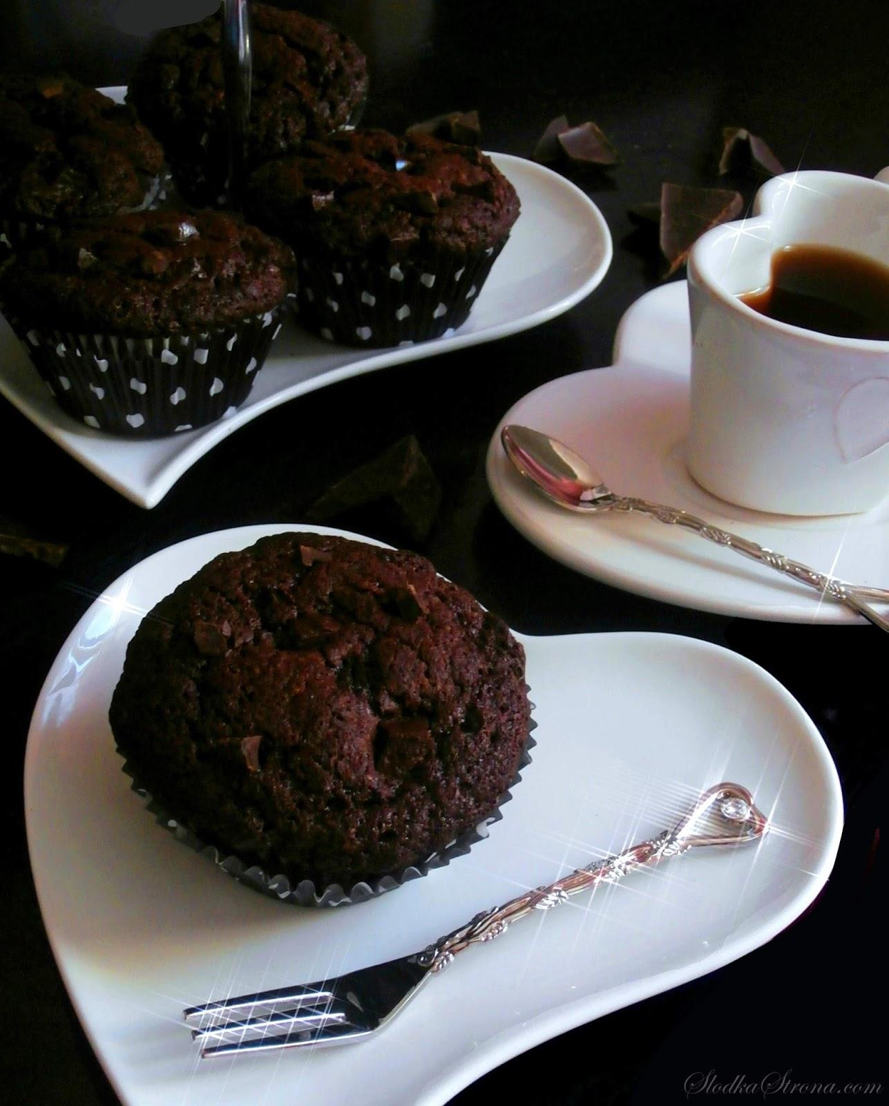 muffiny czekoladowe przepis