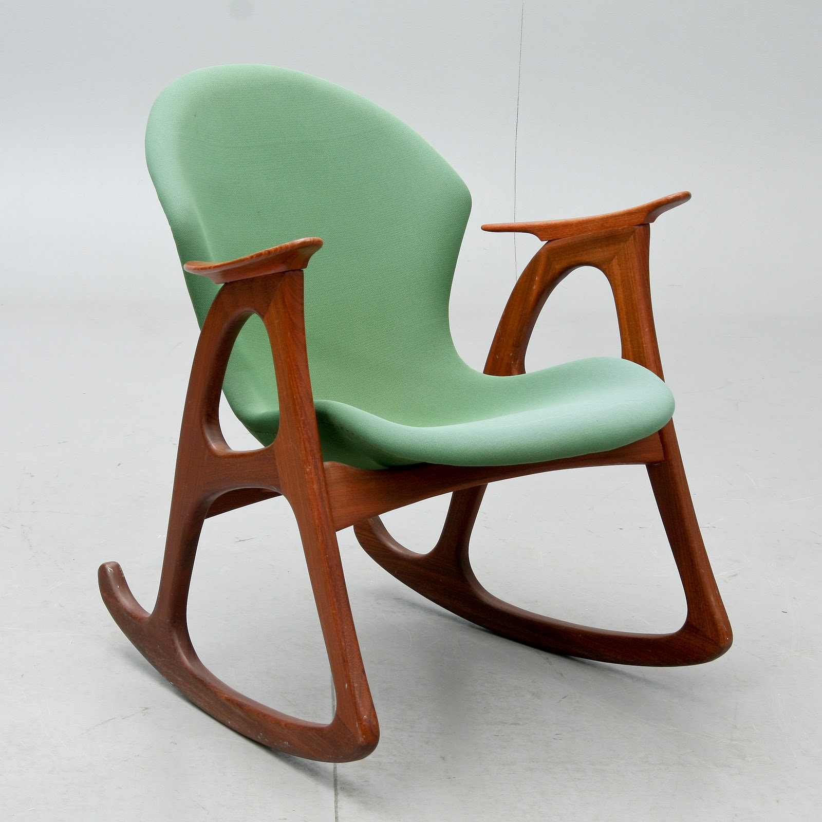 Nordiska Style Danish teak rocking chair