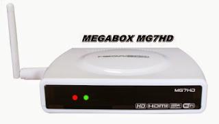 ATUALIZAÇÃO MEGABOX MG7HD - 11/07/2015