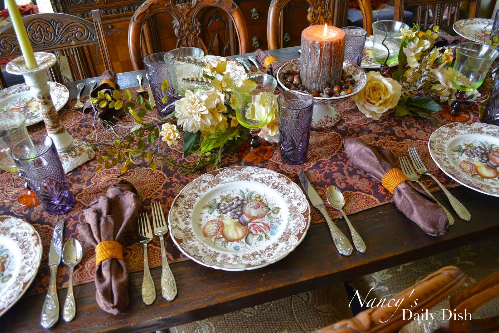 Nancy 39 S Daily Dish A Melange Of Autumn Thanksgiving
