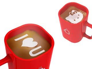 咖啡印表機 凱蒂貓拉花