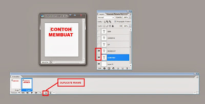 Cara Mudah Membuat Gambar Animasi DP BBM