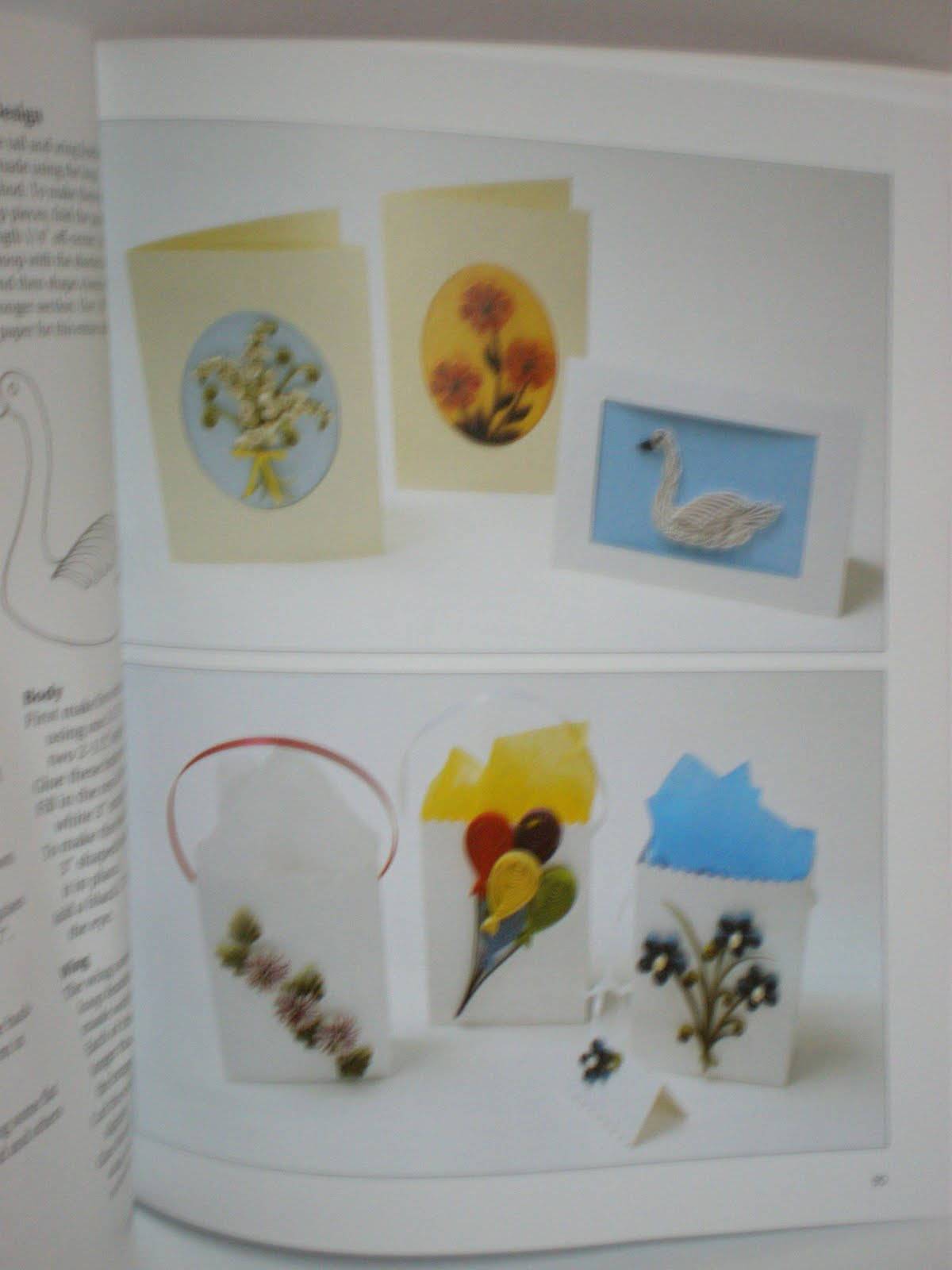 Decorative Items With Paper Crafty Divas The Book Of Paper Quilling