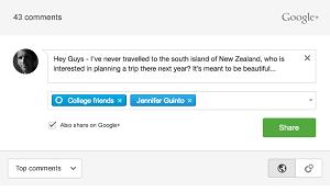 sekarang google+ bisa pake buat komentar di blog, lumayan ningkatin traffic
