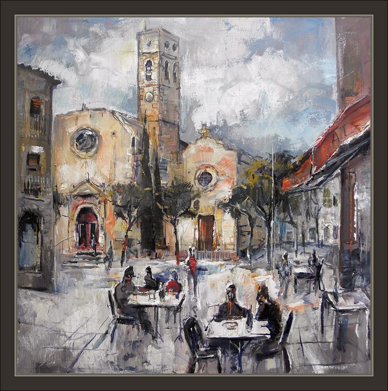 Ernest descals artista pintor vila seca tarragona pintura - Cuadros para bares ...