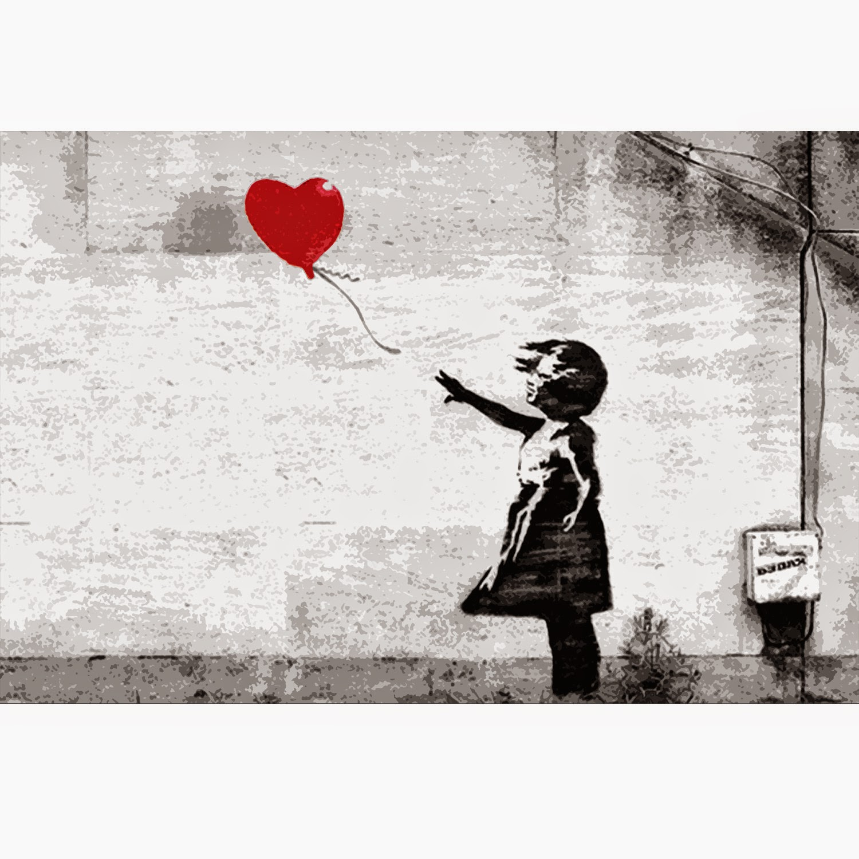 La niña con globo de Banksy