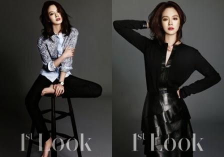Foto] Kecantikan Elegan Song Ji Hyo, Pemain Drama 'Emergency Couple'