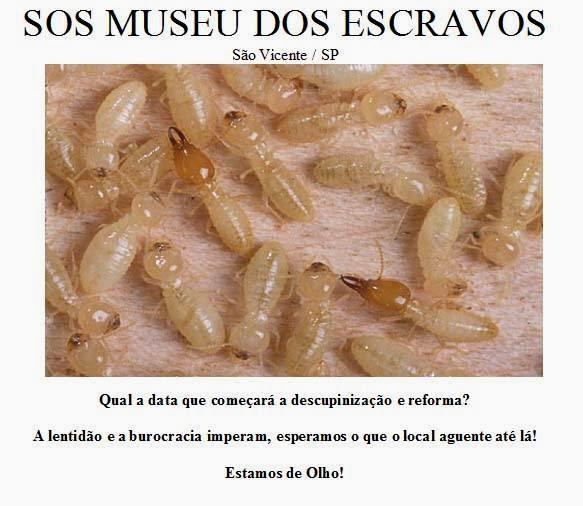 ..:: SOS Museu dos Escravos ::..