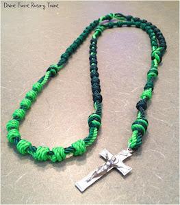 #36 3 Strand Wrap-Knot rosary