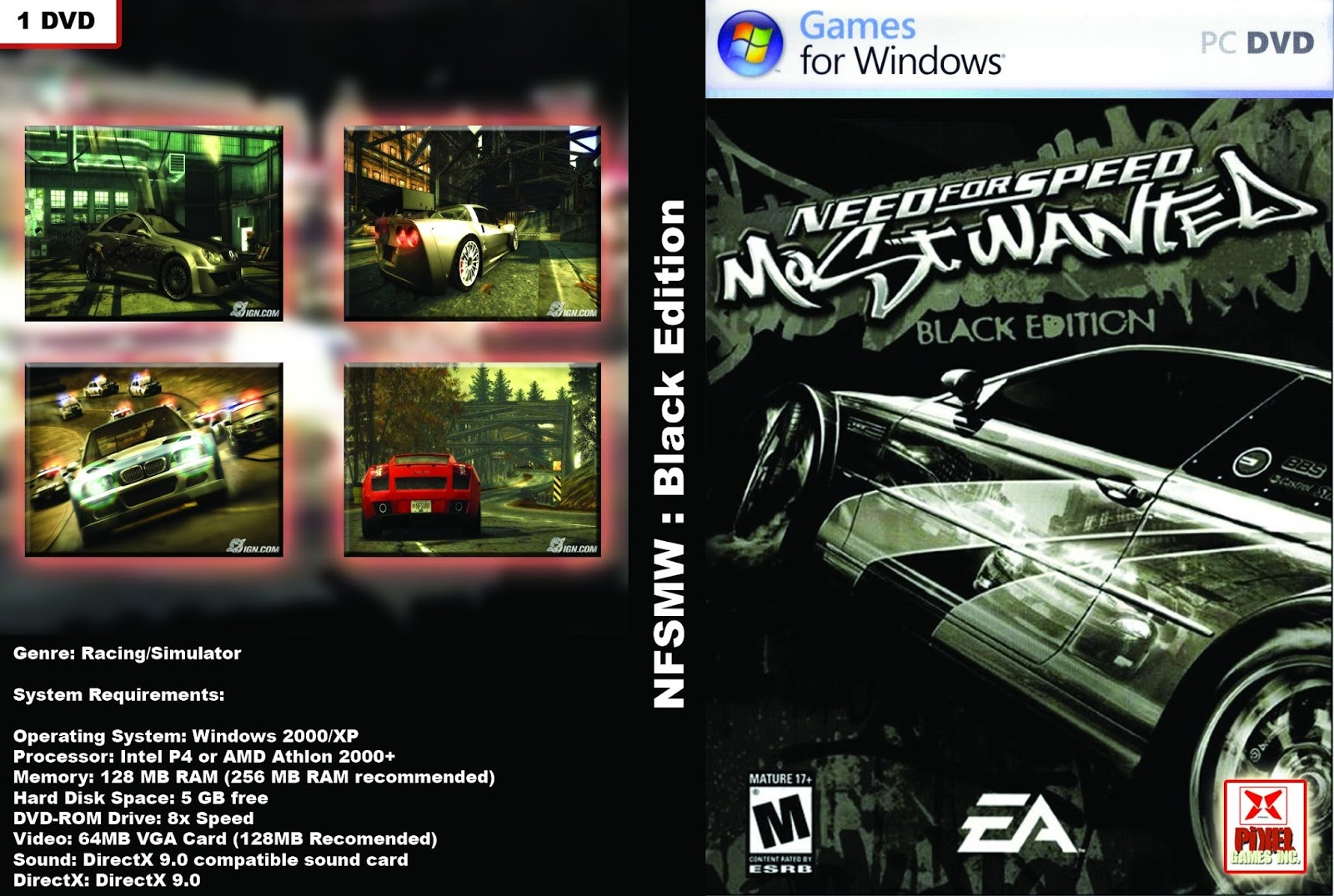Nfs для windows xp скачать.