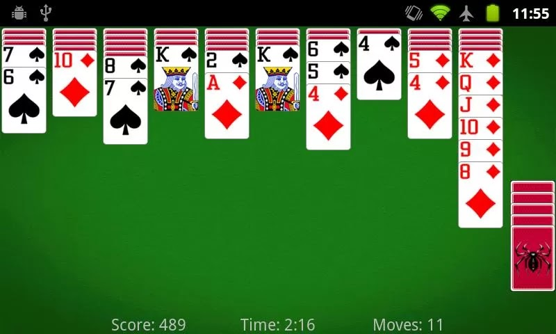 Spider Solitaire 2.1.5 Apk For Android - ApkGamesCollection