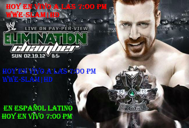 en Vivo WWE Elimination Chamber 2012 online en vivo y español latino