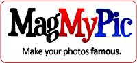 ubah foto gaya cover majalah, take cover magazine, magmypic