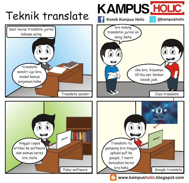 #119 Teknik translate mahasiswa