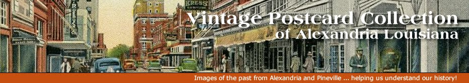 Vintage Postcard Collection of Alexandria Louisiana