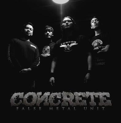 Concrete Band Hardcore Ujung Berung - Bandung Foto Personil Logo Wallpaper