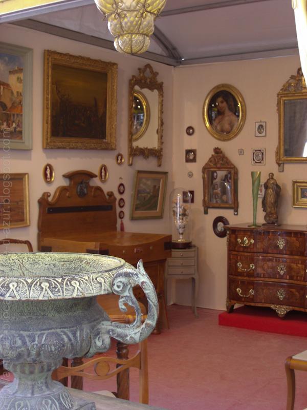 Antiquit s brocante c te d 39 azur salon d 39 antiquit d for Salon d antibes