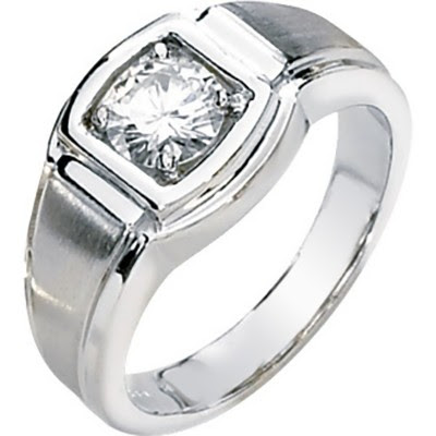 For men it is rare to wear an engagement ring is diverse as the women