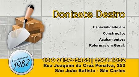 DONIZETE DESTRO - SÃO CARLOS/SP