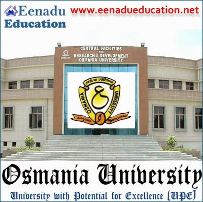 Osmania University: Teaching Posts