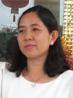 Bà Nguyễn Hồng Thắm - Giám đốc Công ty TNHH dịch vụ An Hạ