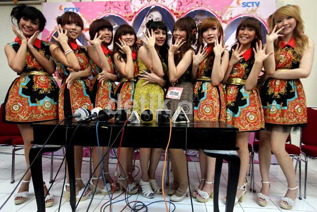 Cherry Belle with personel baru