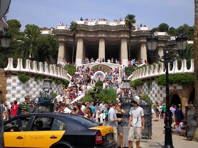 Mi lugar preferido de Barcelona, el Parc Guell