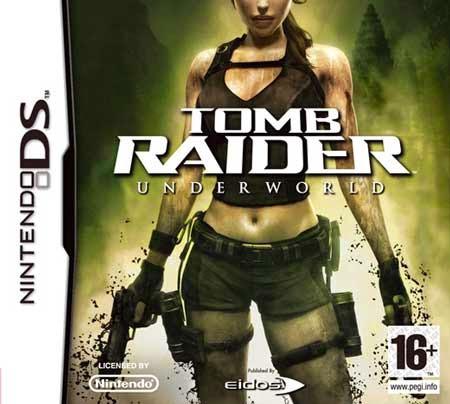 Tomb Raider underworld game nds rom cover