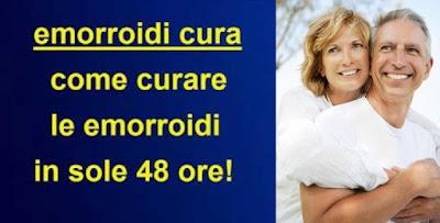 Corso di trattamento contro emorroidi
