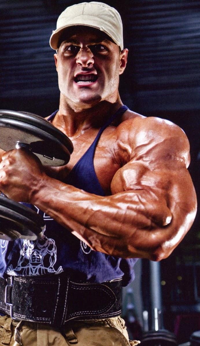 تفجير عضلات البايسبس
