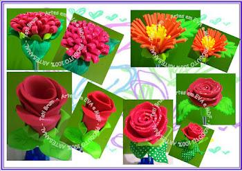 Caneta decorada R$ 4,00 cada