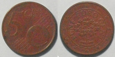 austria 5 cent 2008