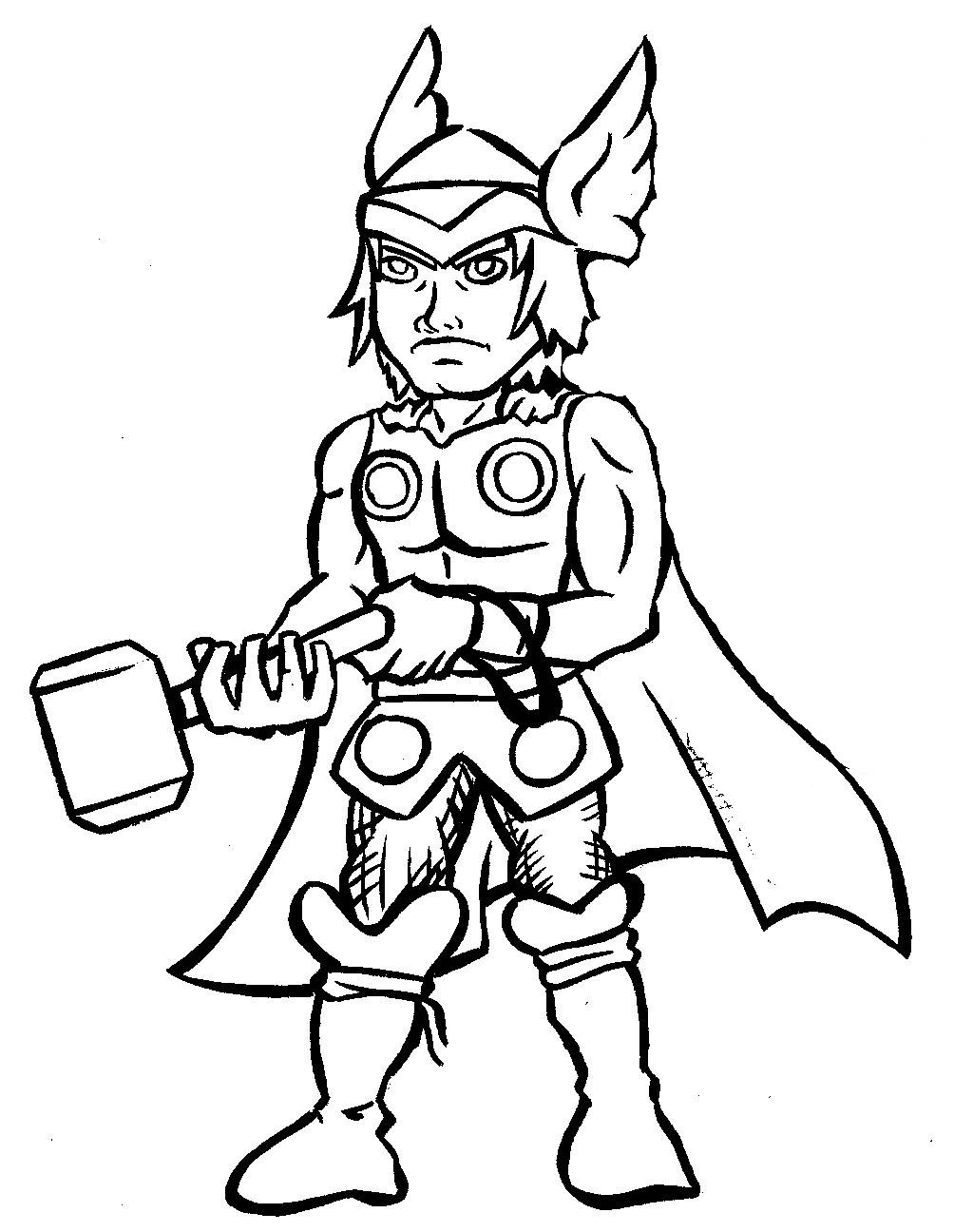 Thor Coloring Pages Coloring Pages Thor Coloring Pages