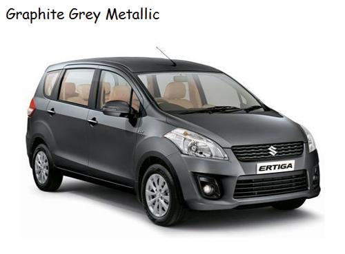 warna ertiga grey