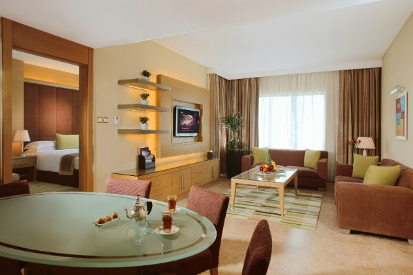 Nour Arjaan by Rotana, Fujairah offers a total of 255 rooms and suites