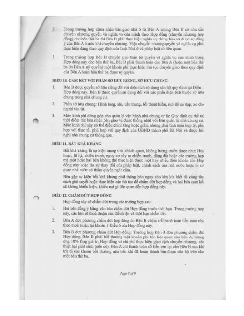 Trang 8 Chung cư hh3 linh đàm