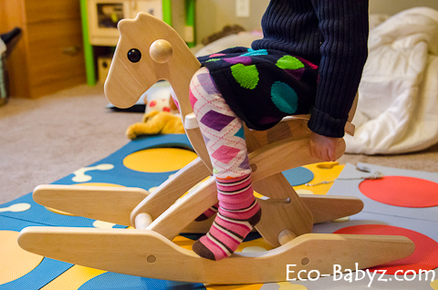 plan toys rocking horse review