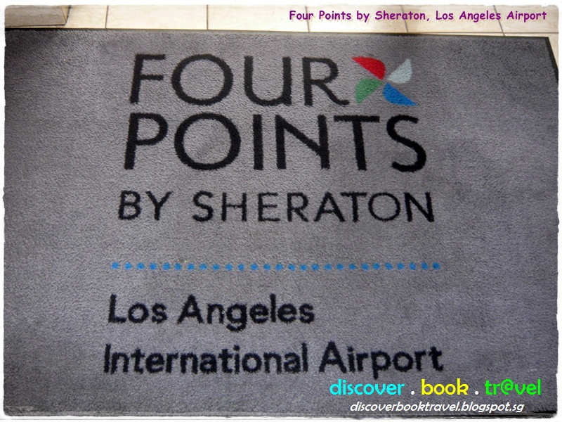 hotel review four points by sheraton la international. Black Bedroom Furniture Sets. Home Design Ideas