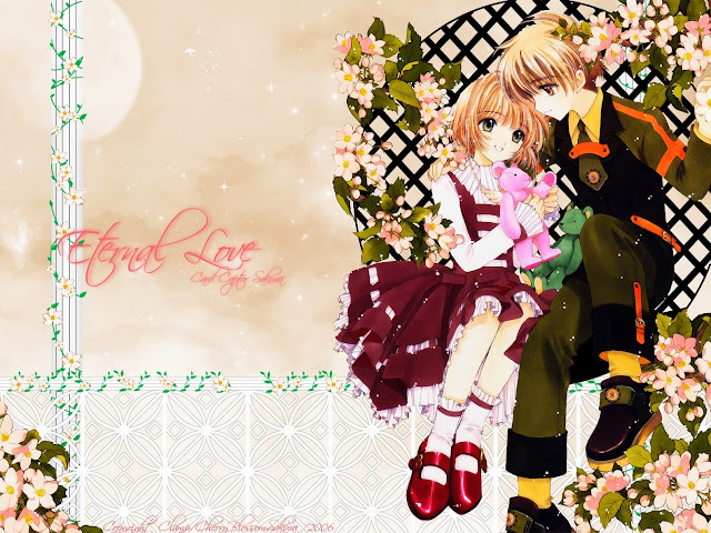 111000-Sakura and Syaoran HD Wallpaperz
