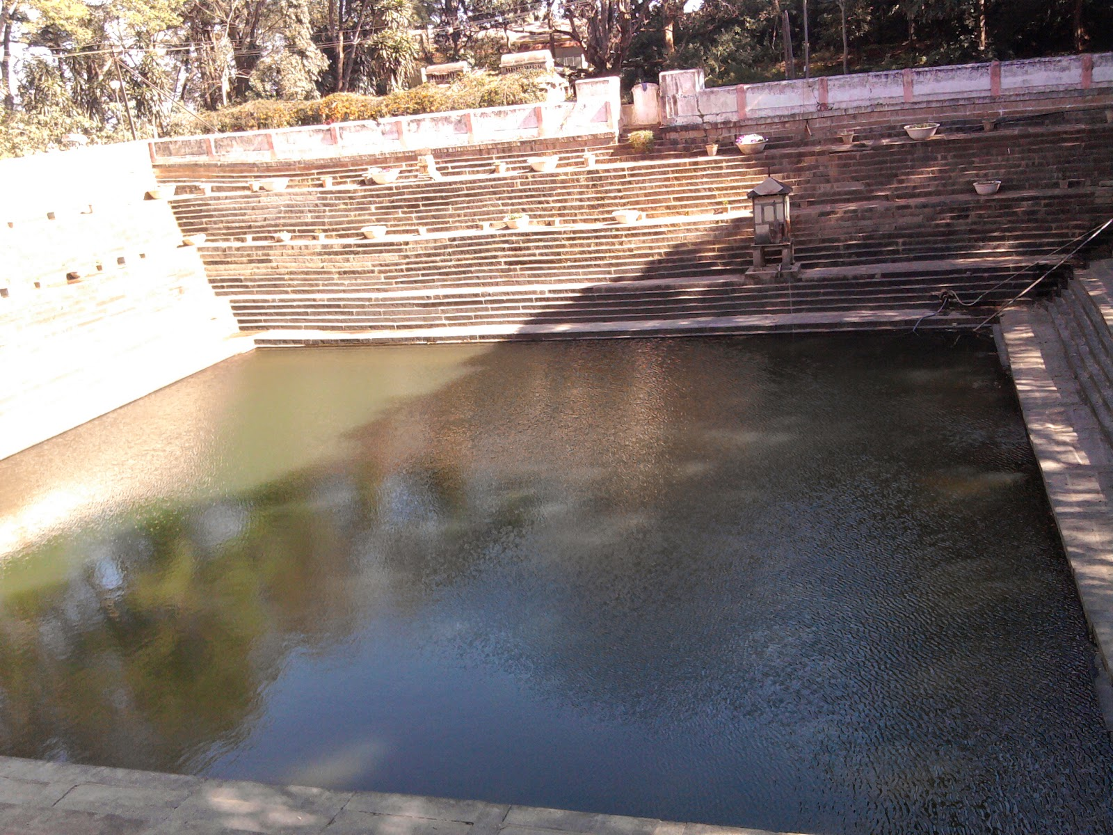 Amritha sarovar - origin of rivers on Nandhi Hills