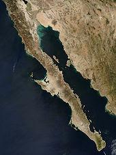 The Baja California Peninsula, Mexico