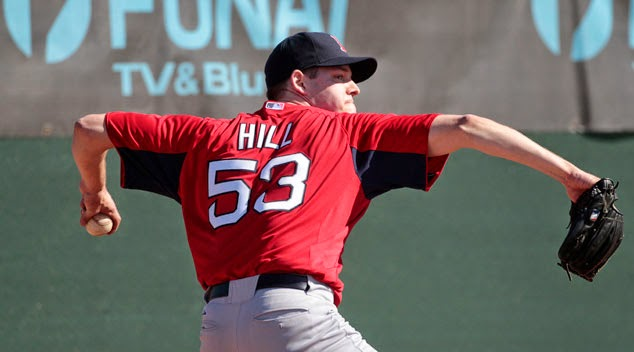 Red Sox Trade Milton's Rich Hill To Anaheim
