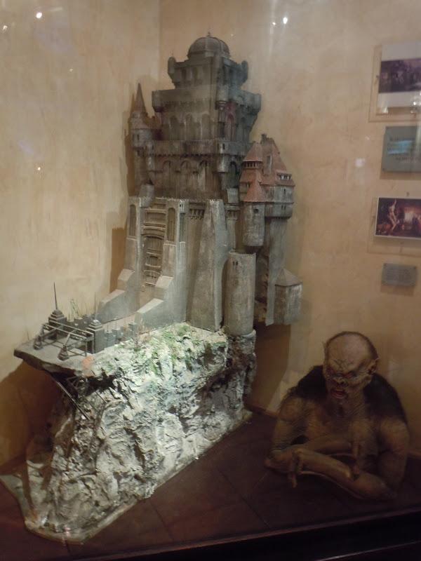 Dracula castle miniature