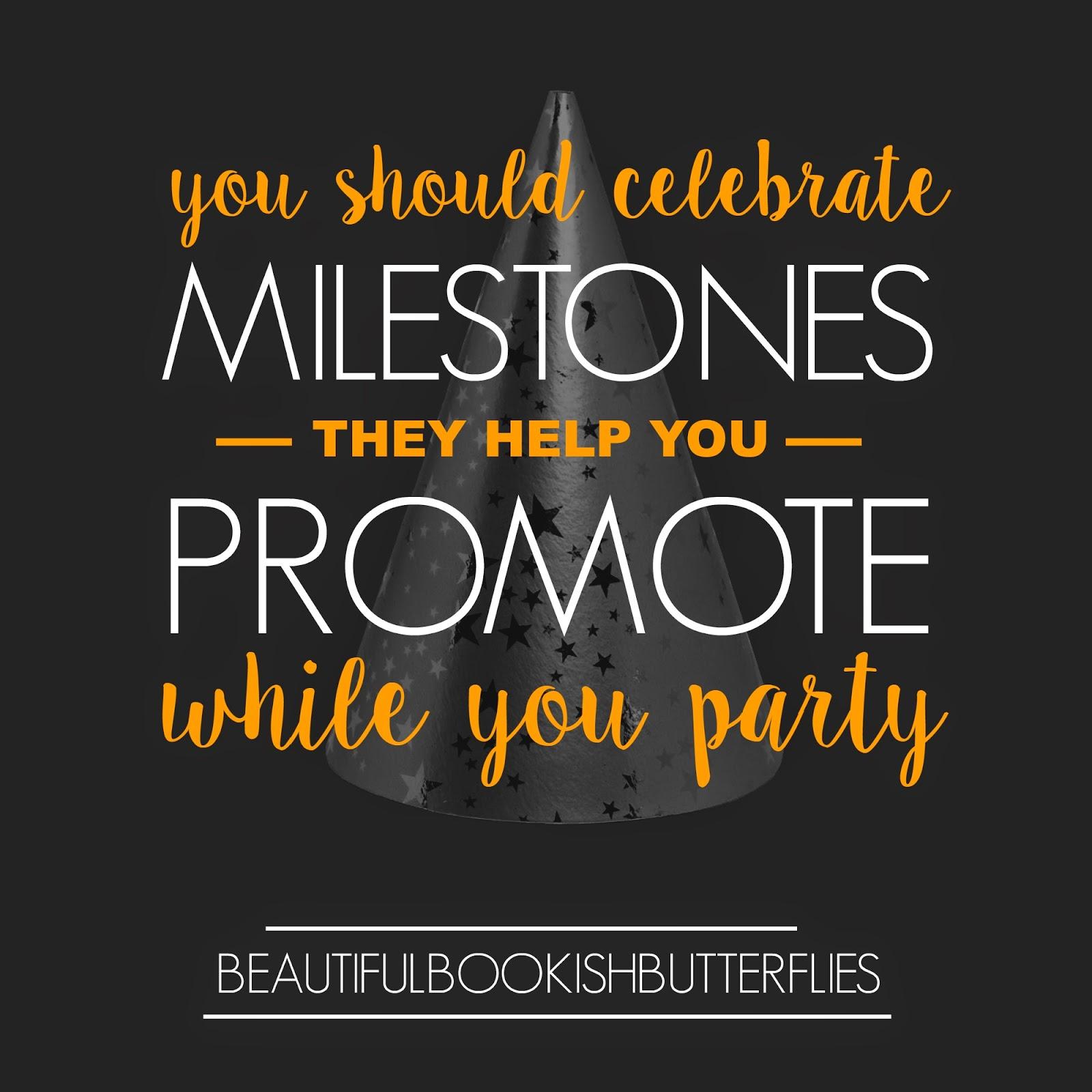 You Should Celebrate Blogging Milestones