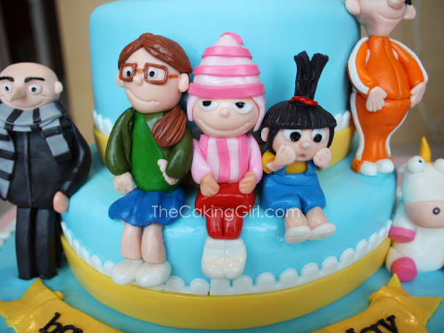 edible handmade despicable me figurines