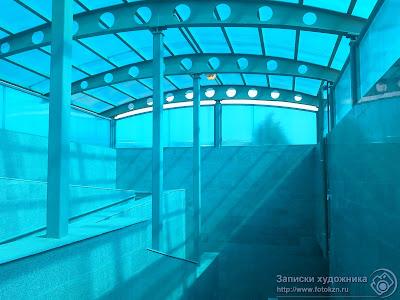 Подземный переход к Дворцу водных видов спорта