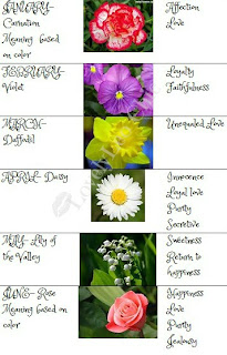 creatively unique birthstones and birth flowers what
