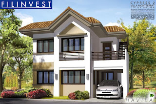 Cypress House Model at Villa Montserrat Taytay, House and lot for sale in Taytay