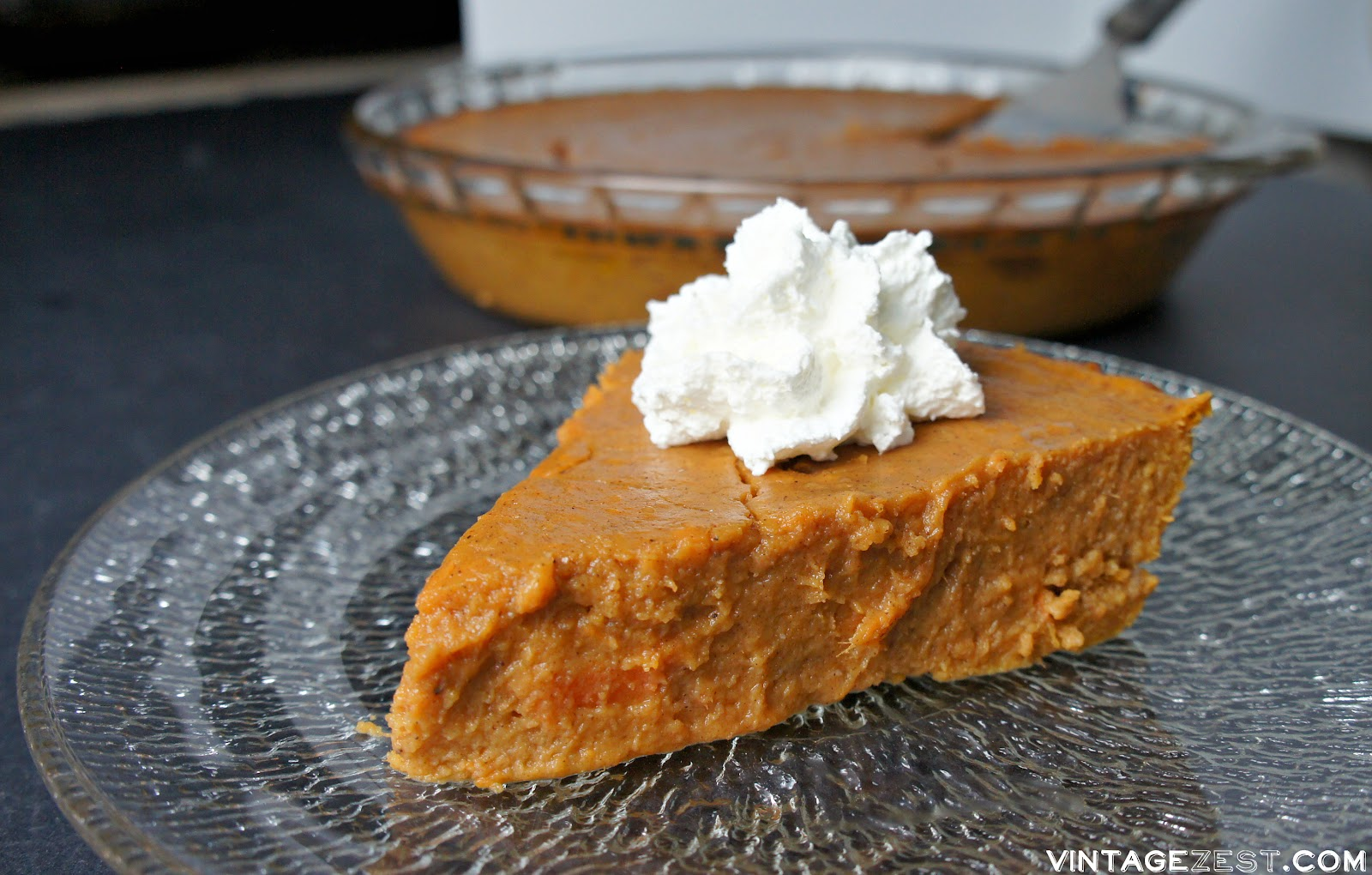 Sweet Potato Pie (without a crust!) on The Episodic Eater #recipe #Thanksgiving #dessert #healthy