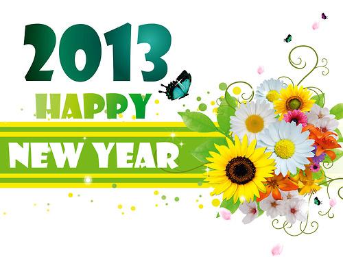 Koleksi Ucapan SMS Selamat Tahun Baru 2013